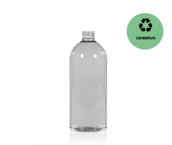PET-flaske i RPET 500 ml