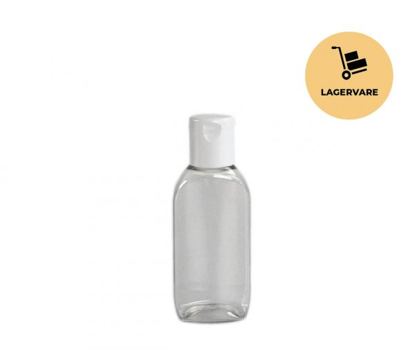PET-flaske oval 50 ml