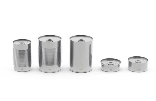 Round cans