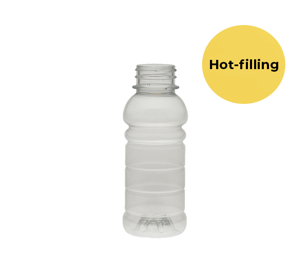 PET-Flaska till hotfilling 250 ml